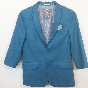 Appaman Fine Tailoring | Boys Blazer Jacket Blue